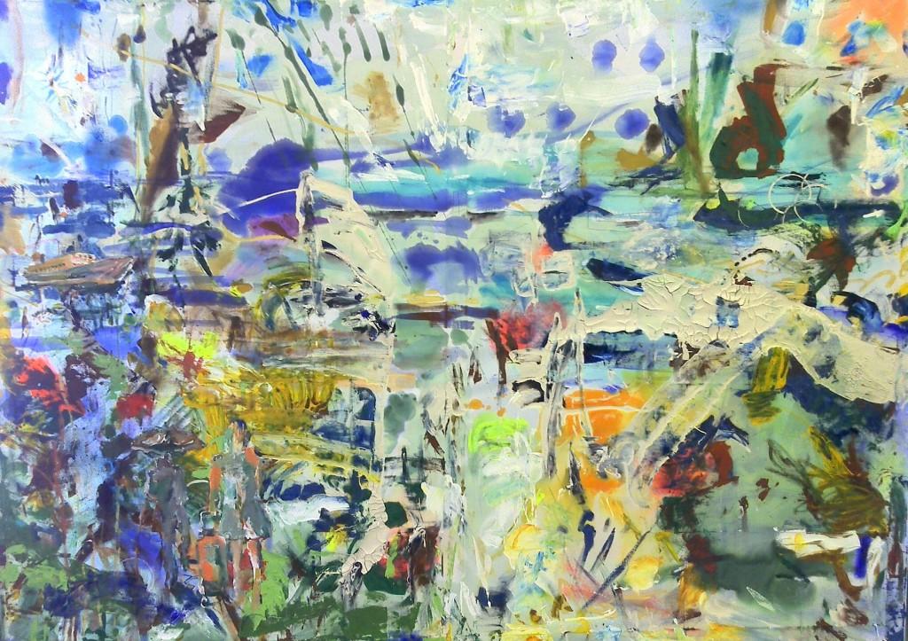 abstrakte Reise